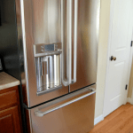 It's Here! The GE Café refrigerator with Keurig Brewer