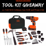 Black and Decker Tool Set Giveaway $75