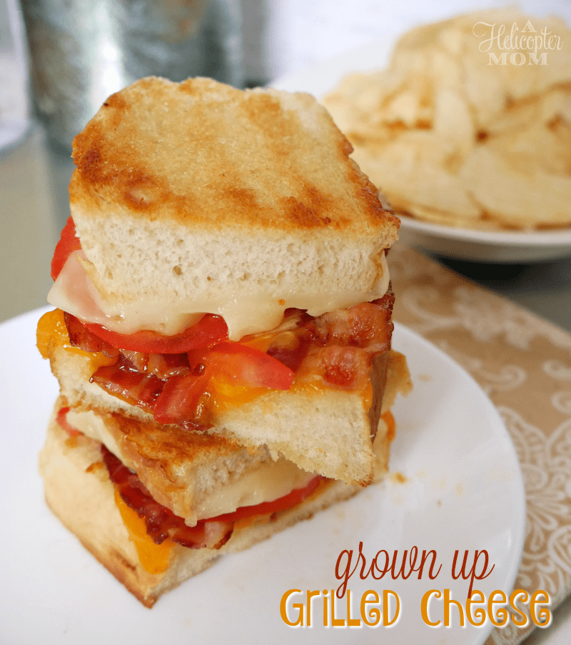 Grown Up Grilled Cheese Sandwich - insanely good!