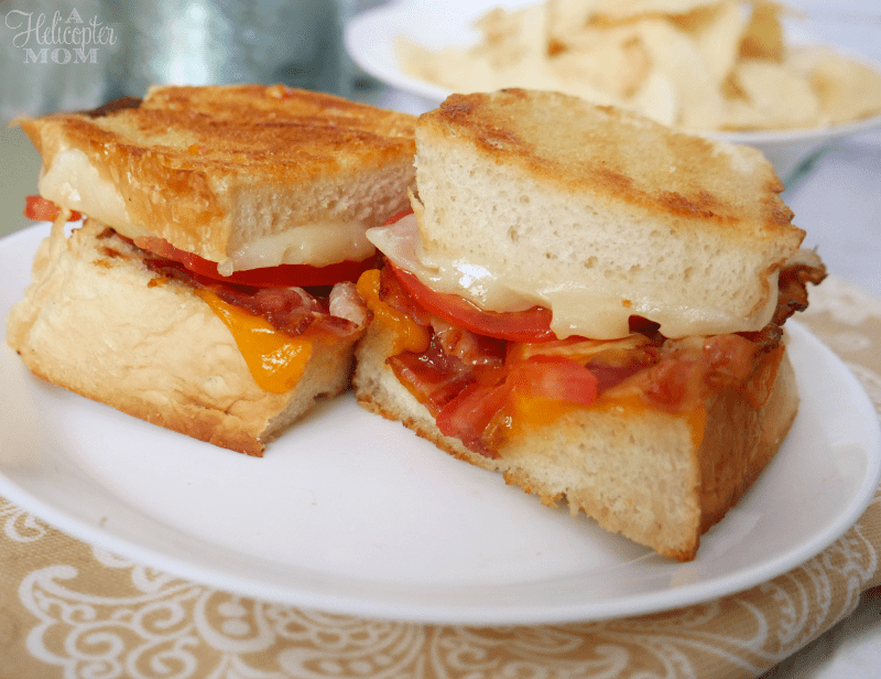 Grown Up Grilled Cheese - the best grilled cheese sandwich EVER!