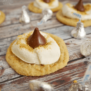 S'mores Hershey Kiss Cookie Recipe