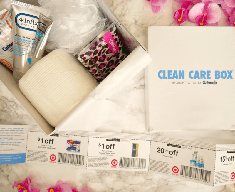 Tips For Great Skin All Summer Long Cottonelle Clean Care Box