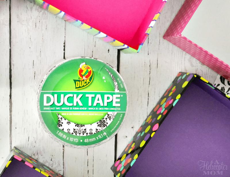 Duck Tape Easy Drawer Organizer