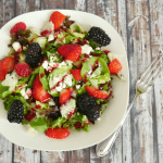 Fresh Berry and Feta Salad Recipe