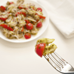 Pesto Three Cheese Tortellini Pasta Salad Recipe
