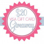 $20 VISA Gift Card Giveaway