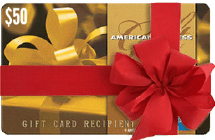 $50 American Express Gift Card Giveaway