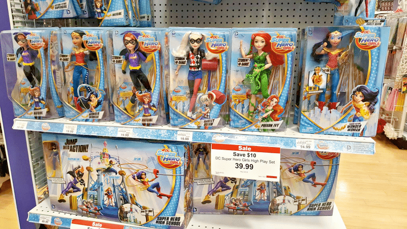 DC Super Hero Girls at Toys R Us Stores