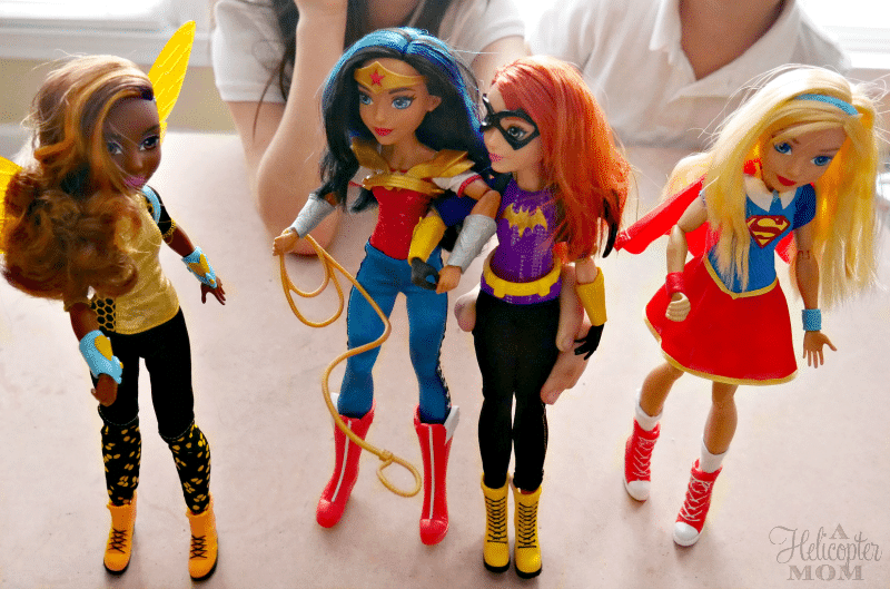 DC Super Hero Girls - Gift Ideas for Girls