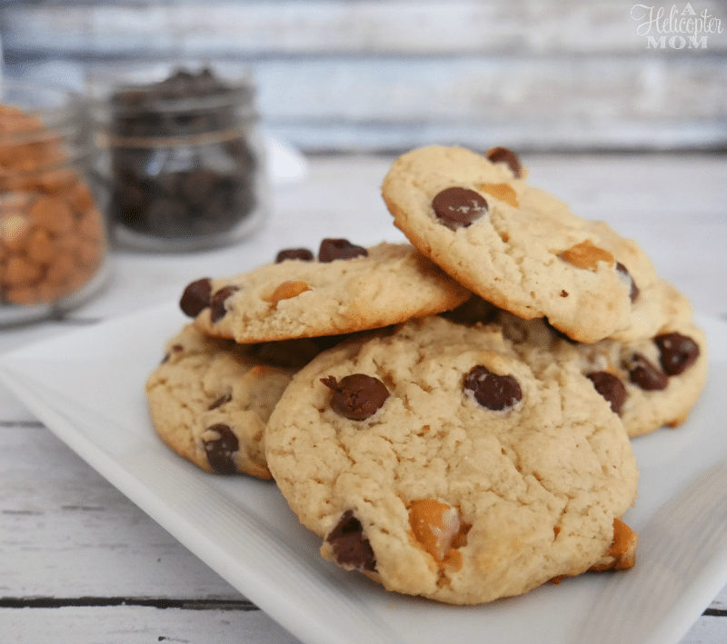 Chocolate and Butterscotch Chip Cookies Recipe - Make It Yours