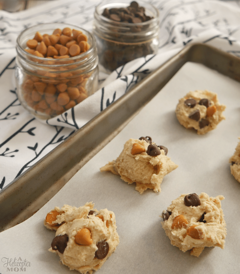 Chocolate and Butterscotch Chip Cookies Recipe - Make It Yours Cookies