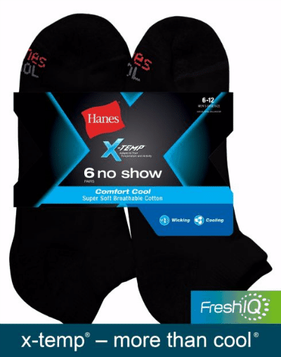 Hanes FreshIQ Holiday Gift Ideas Comfort No Show