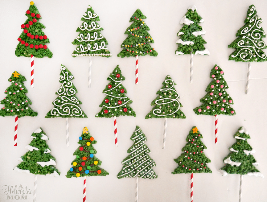 Easy Rice Krispies Christmas Tree Recipe