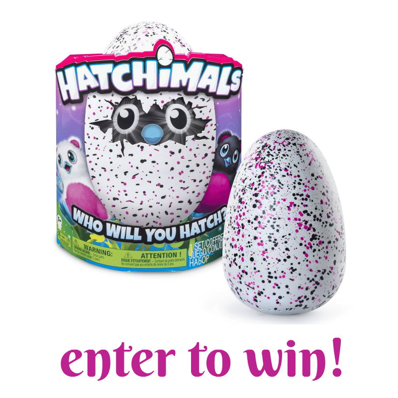 Hatchimals Giveaway on A Helicopter Mom
