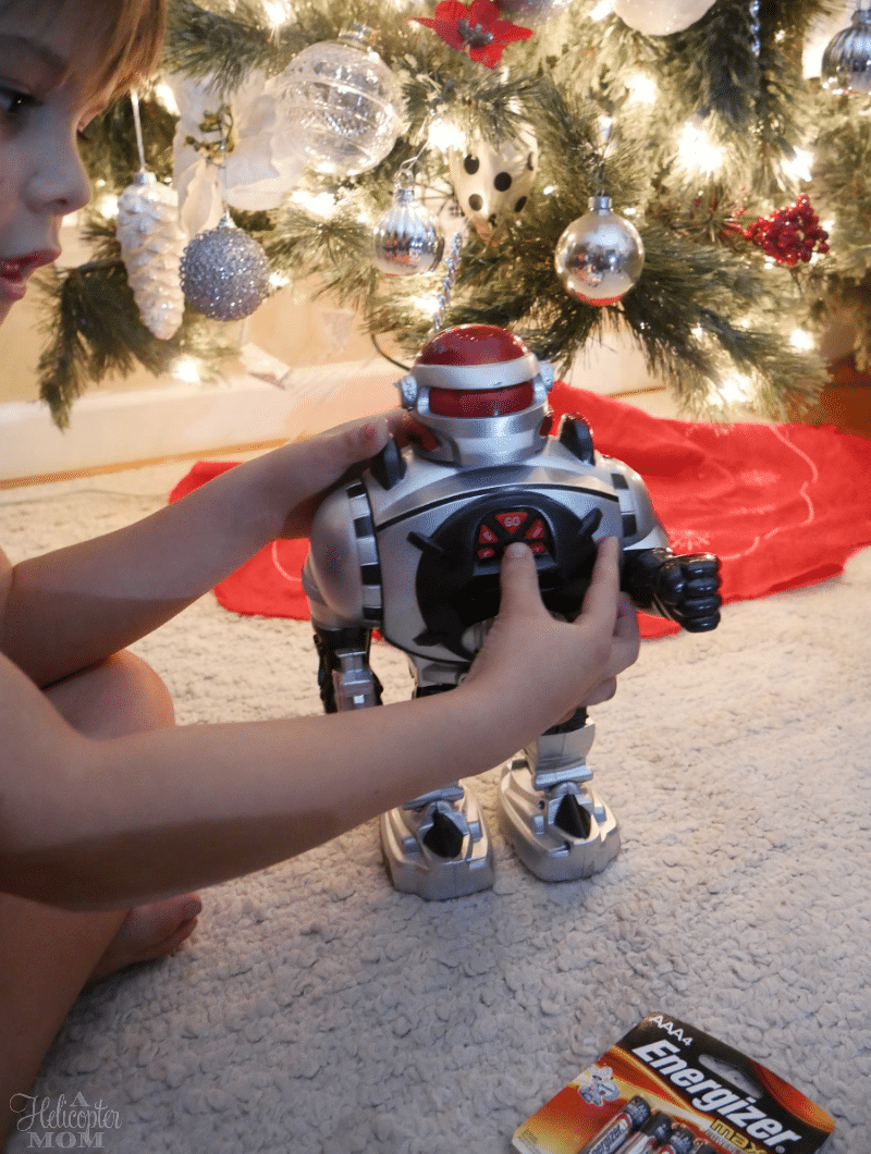 Playing with Christmas Toys - Last Minute Holiday To-Do List
