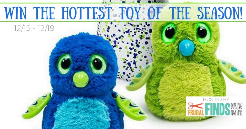 Hatchimals Giveaway - A Helicopter Mom