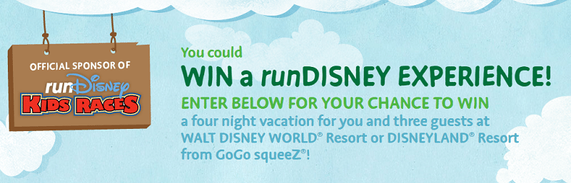 runDISNEY Sweepstakes and GIVEAWAY