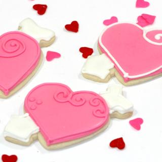 Easy Valentine's Day Cookies - Recipe