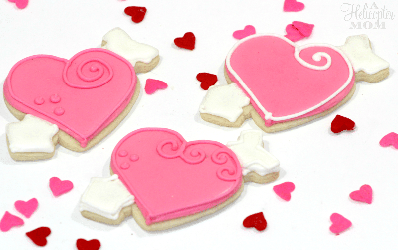 Easy Valentine's Day Cookies - Recipe