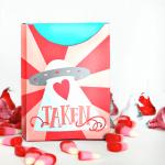 Valentine's Day Free Printable Treat Box – Heart Taken