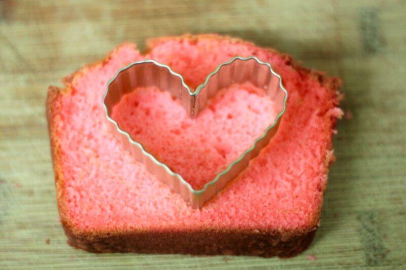 Valentine's Day Heart Cake Heart