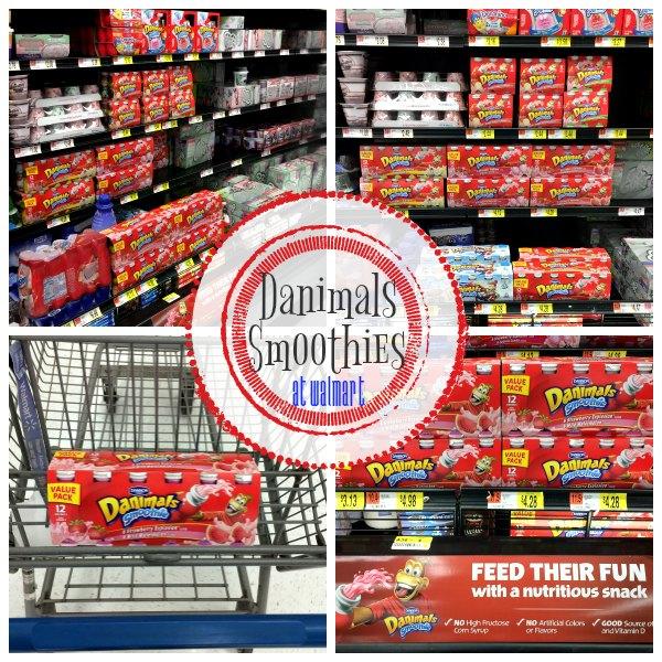 Danimals Smoothies at Walmart - Save $1