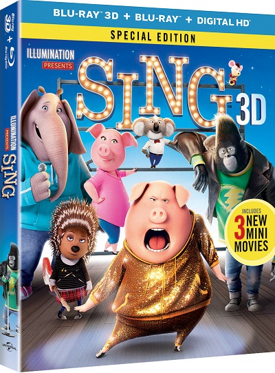 SING DVD GIVEAWAY