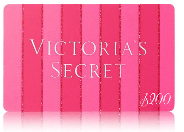victoria's secret gift card giveaway