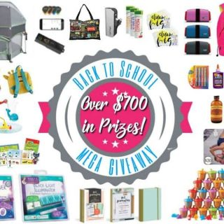 Back To School Giveaway on A Helicopter Mom