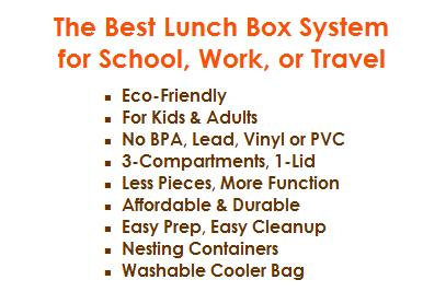 The Best Lunch Box System for School, Work or Travel