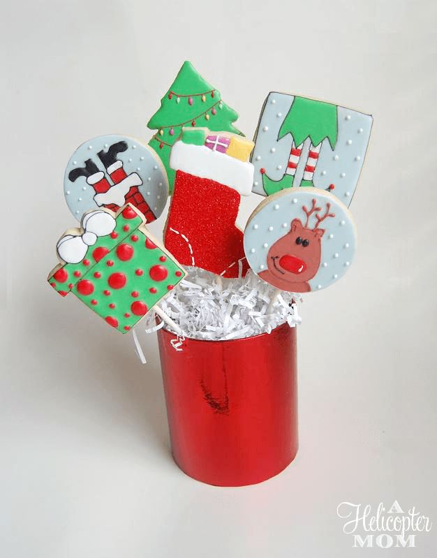 Christmas Cookies Bouquet