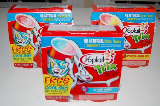 Yoplait Trix Yogurt Fun Treats for Kids