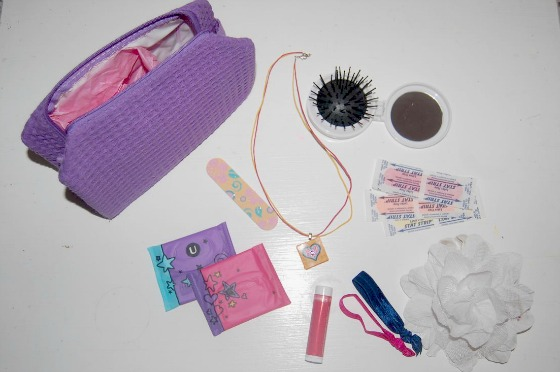 Girly Stuff for First Period