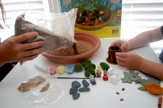 Arts and Crafts DIY Gnome Garden
