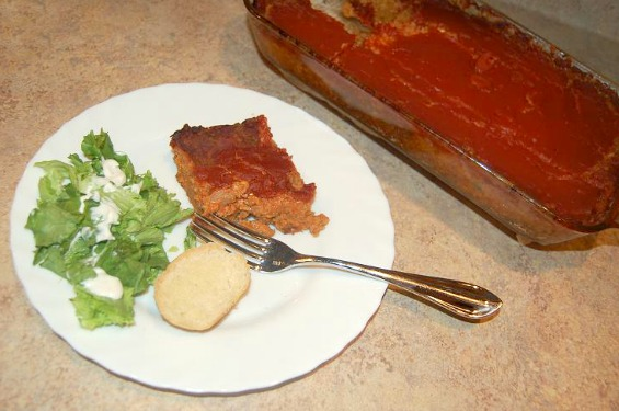 Vegetarian Loaf Chicago Cutlery