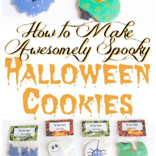 Halloween Cookies – Hand Iced and Decorated