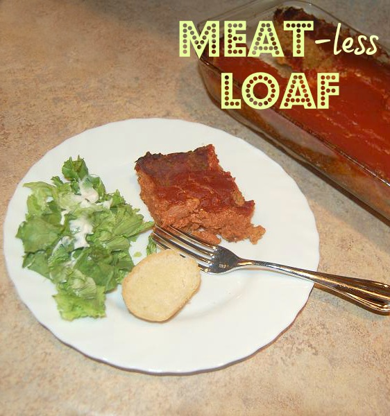 Meat-less Vegetarian Loaf