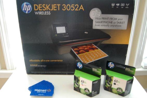 HP Deskjet 3052A Wireless e-All-In-One Printer