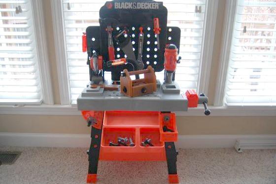Black Amp Decker Junior Power Tool Workshop 39 99 On Black