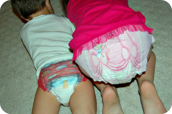 Older Kids In Diapers At Disney