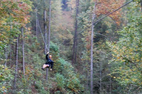 CLIMB Works Mountain Ziplining