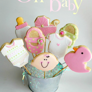 Baby Shower Cookies – Iced and Decorated Cookies