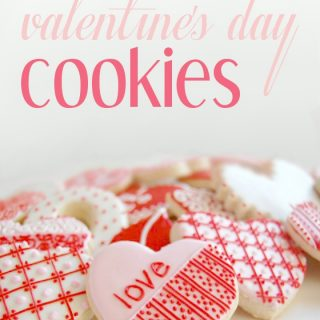 Valentine's Day Cookies – Hand Iced and Decorated