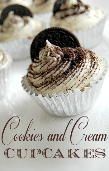 Cookies and Cream Cupcakes Recipe A Helicopter Mom