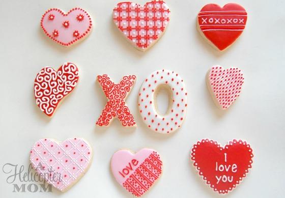 Valentine's Day Cookies - Designs