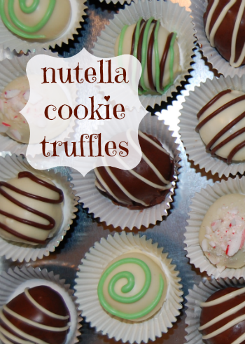 Nutella Cookie Truffles Recipe