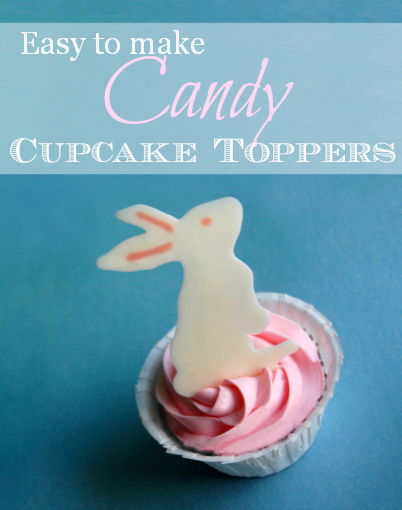 Candy Cupcake Toppers