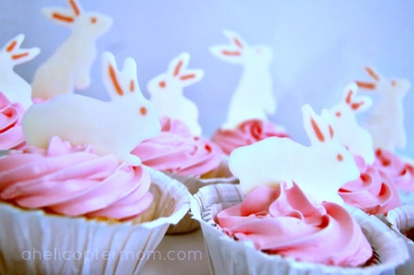Easter Easy Cupcake Toppers for Parties