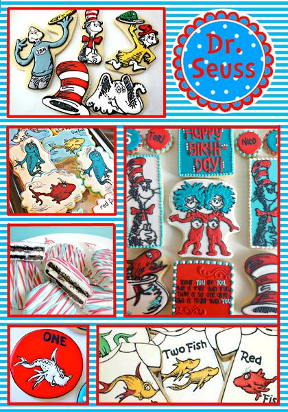 Seuss Party Cookie Ideas