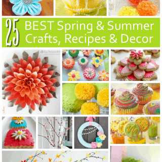 Easy Spring Crafts, Decorations and Recipes